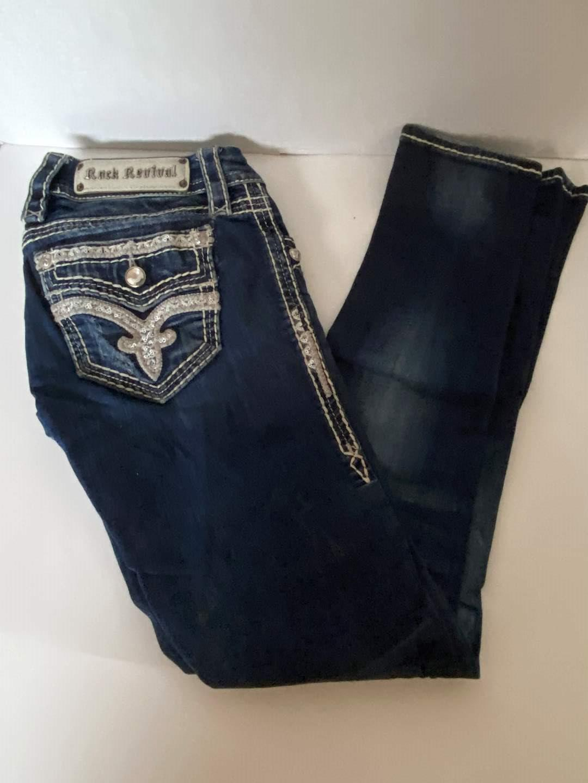Lot # 142 Rock Revival Jeans Sz 25