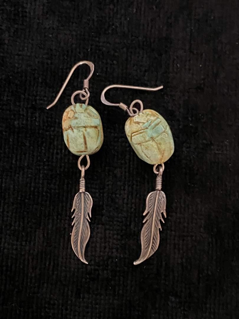 Lot # 155 Gorgeous Sterling Silver Earrings