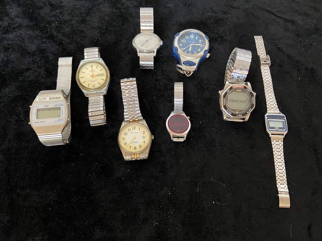 Lot # 158 (8) Men's Watches (Lorus, Milan & More)