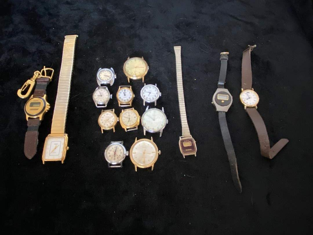 Lot # 159 Collection of Watch Pieces