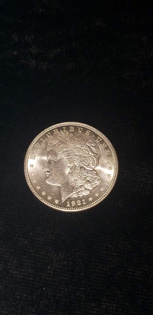 Lot # 175 1921 Morgan Silver Dollar