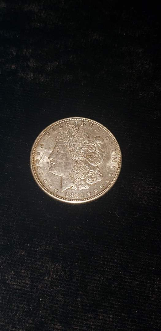 Lot # 176 1921 Morgan Silver Dollar