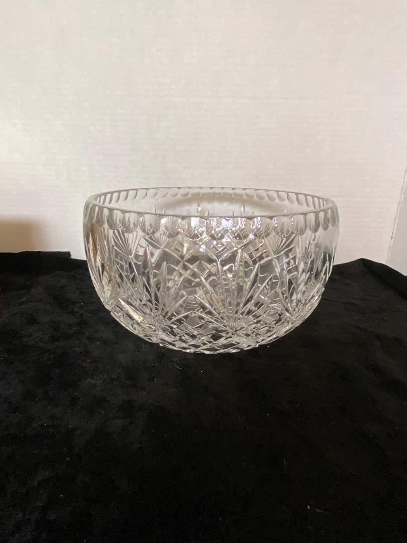 Lot # 180 Large Crystal Serving Bowl
