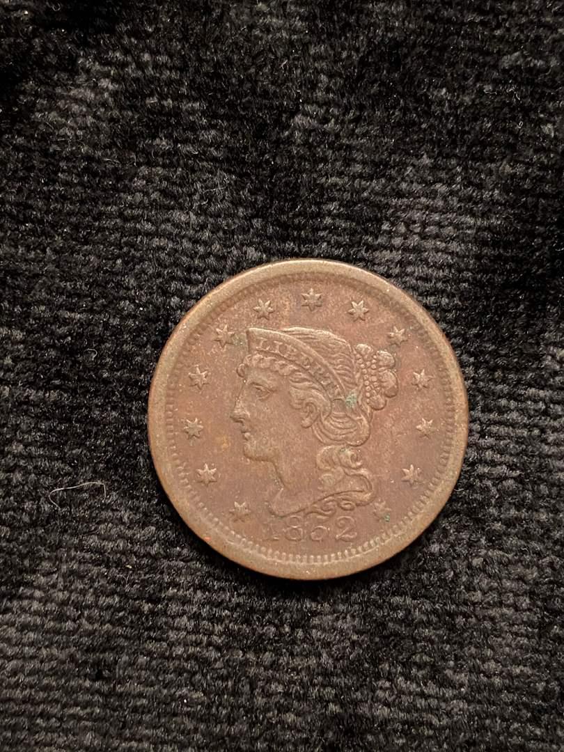 Lot # 203 1852 Large Cent