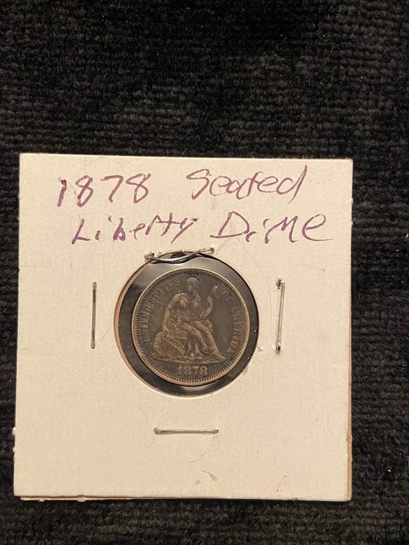 Lot # 210 1878 Seated Liberty Dime