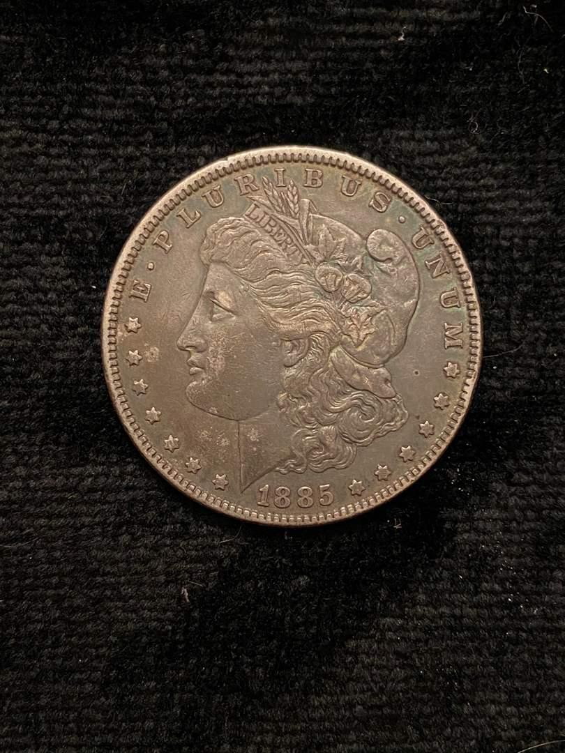 Lot # 211 1885 Morgan Dollar