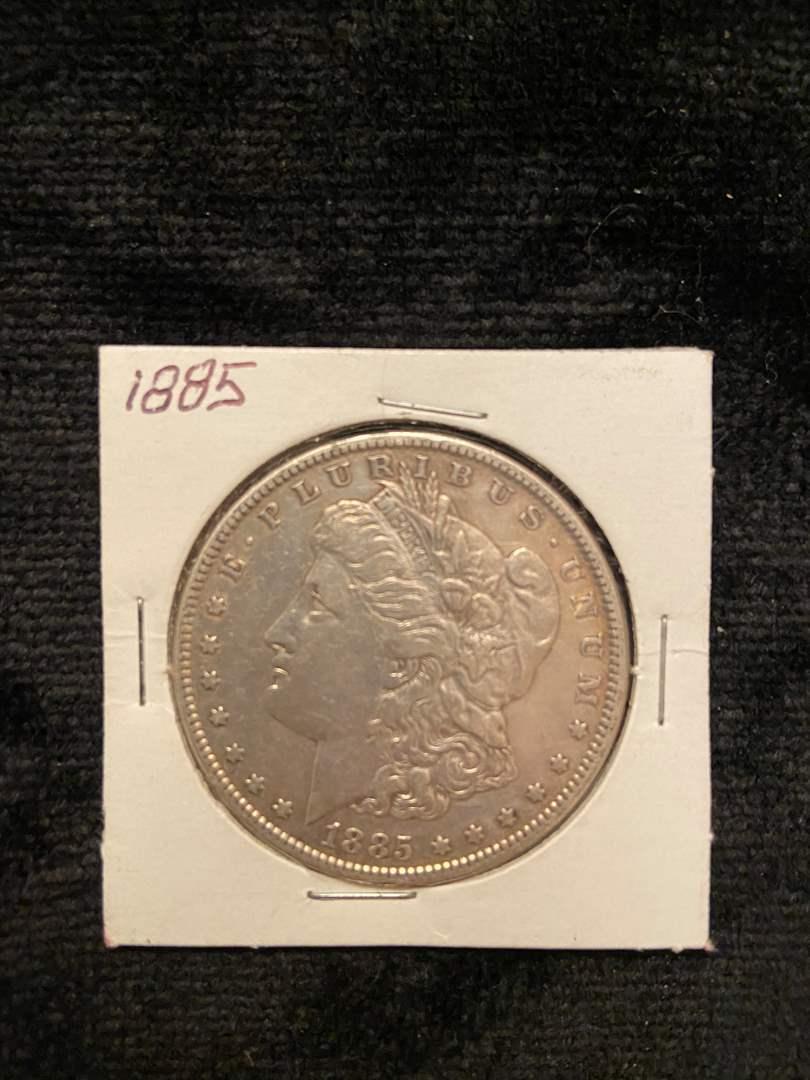 Lot # 212 1885 Morgan Dollar