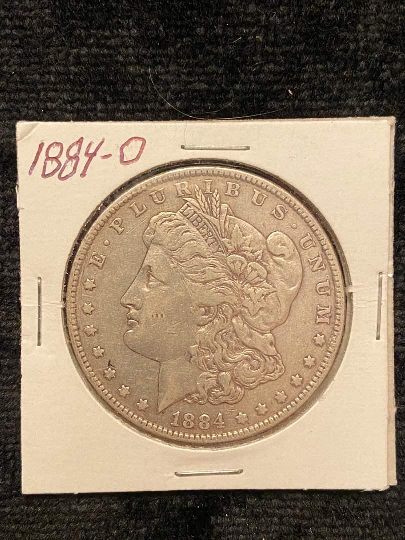 Lot # 213 1884-O Morgan Dollar