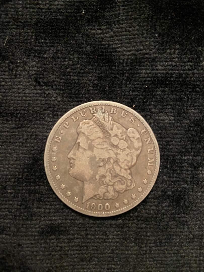 Lot # 214 1900-O Morgan Dollar