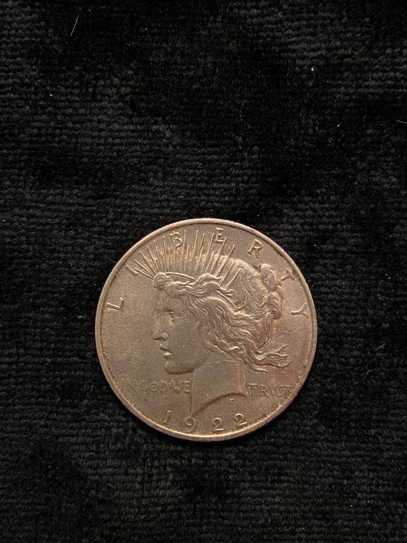 Lot # 215 1922 Peace Dollar