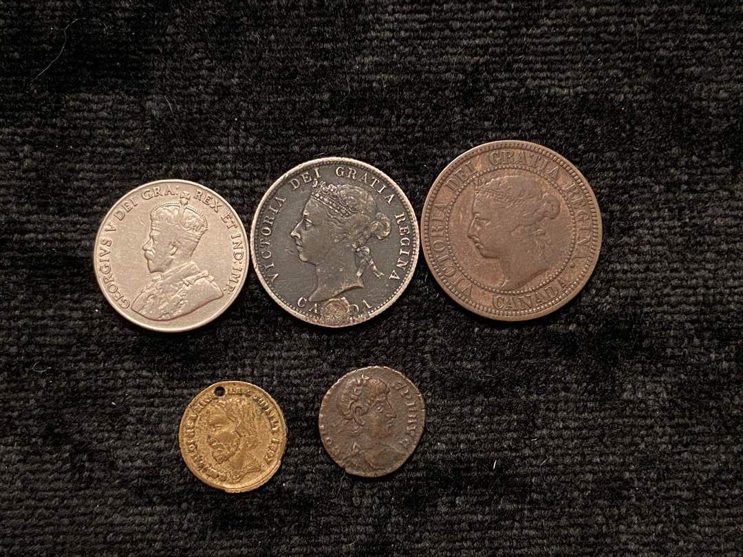 Lot # 219 Foreign Coins