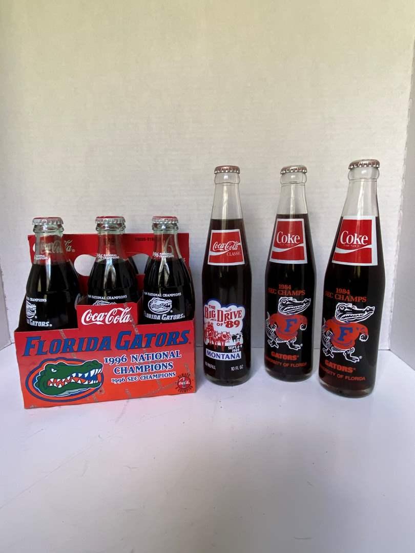 Lot # 226 Vtg Coca-Cola Gator/Big Drive Bottles