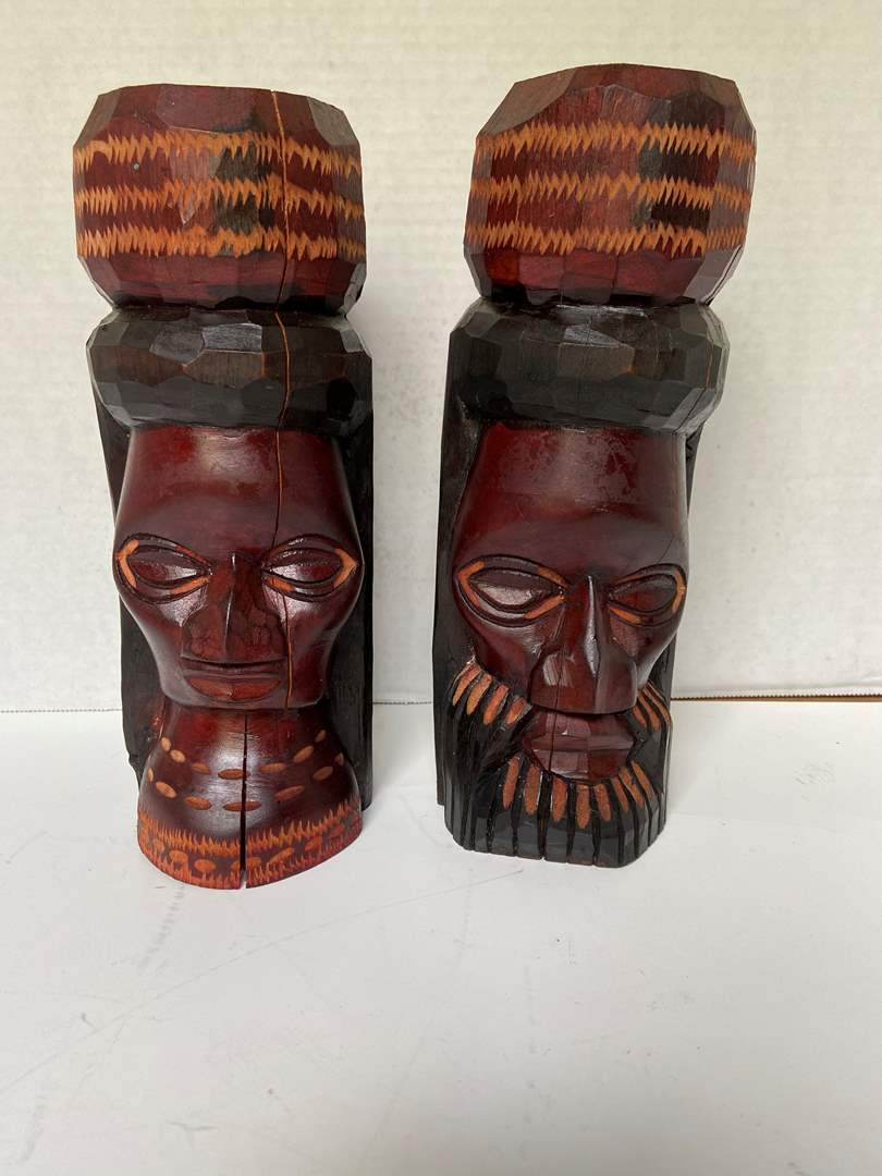 Lot # 229 Wood Carvings from Jamaica
