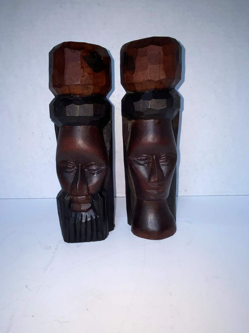 Lot # 230 Wood Carvings from Jamaica