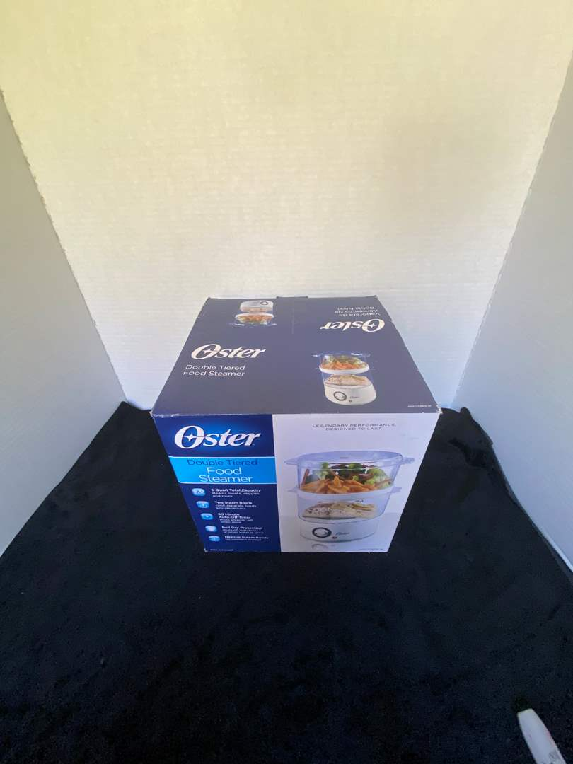 Lot # 236 Oster Double Tiered Food Steamer NIB
