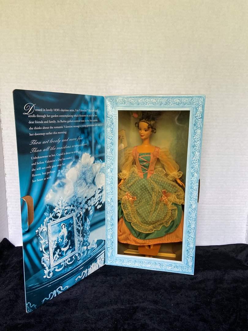 Lot # 239 Fair Valentine Barbie NIB