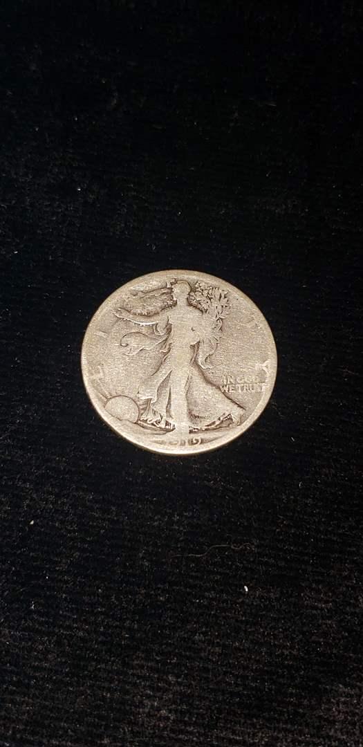Lot # 263 1919-S Walking Liberty Half Dollar
