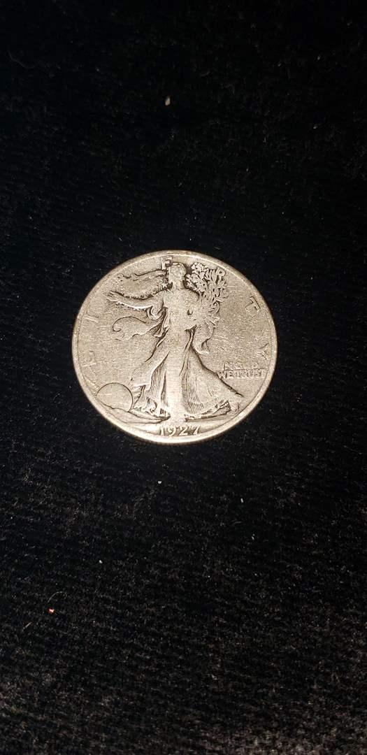 Lot # 265 1927-S Walking Liberty Half Dollar