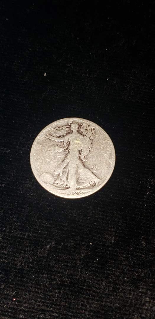 Lot # 266 1928-S Walking Liberty Silver Half Dollar