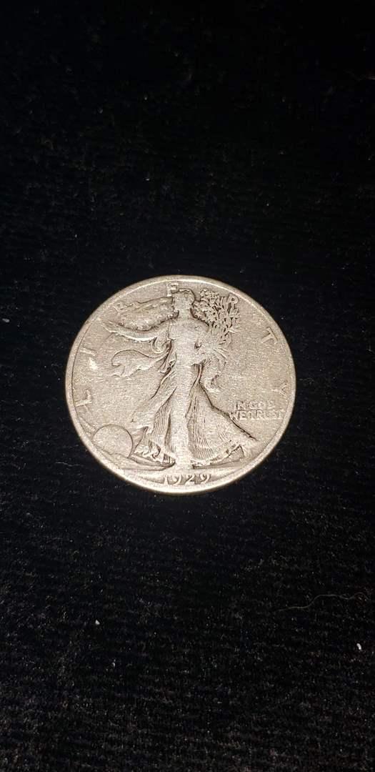 Lot # 267 1929-D Walking Liberty Half Dollar