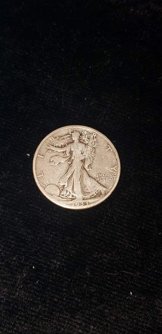 Lot # 269 1933-S Walking Liberty Half Dollar
