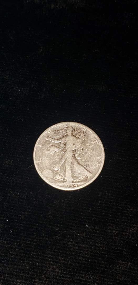 Lot # 270 1934 Walking Liberty Half Dollar