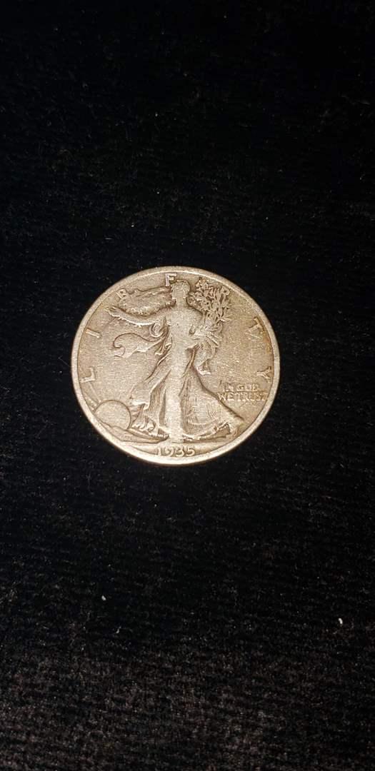 Lot # 271 1935 Walking Liberty Half Dollar