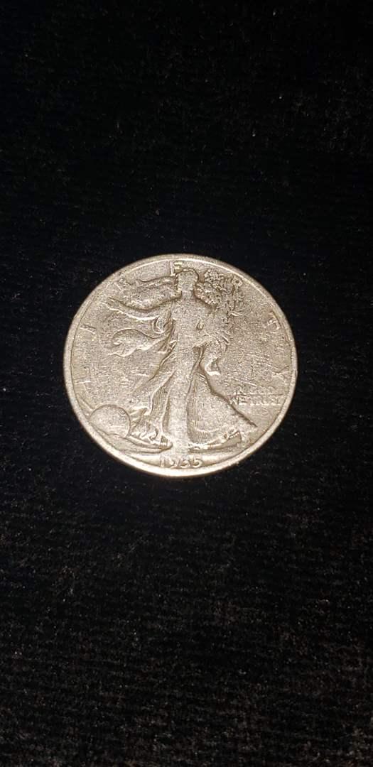 Lot # 273 1935-D Walking Liberty Half Dollar
