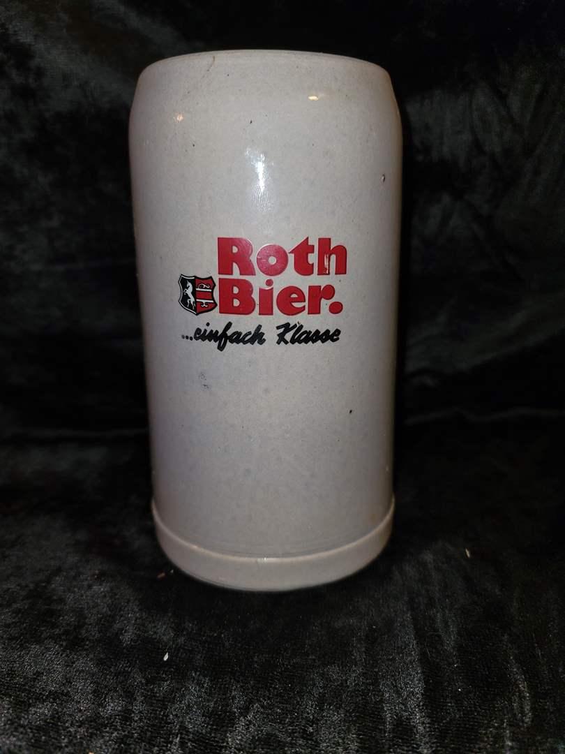 Lot # 278 Vintage Roth bier cinfach klasse beer stein