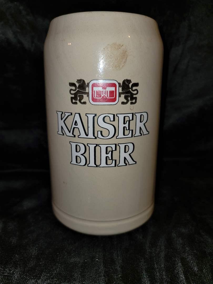Lot # 280 Kaiser Bier beer stein