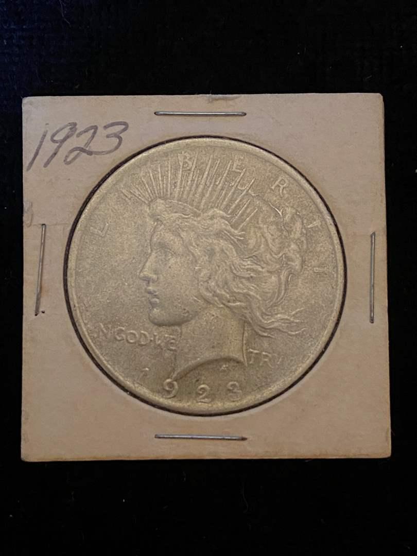 Lot # 305 1923 Peace Dollar