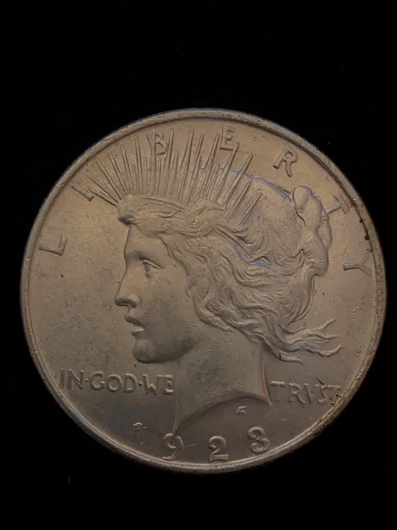 Lot # 306 1923 Peace Dollar