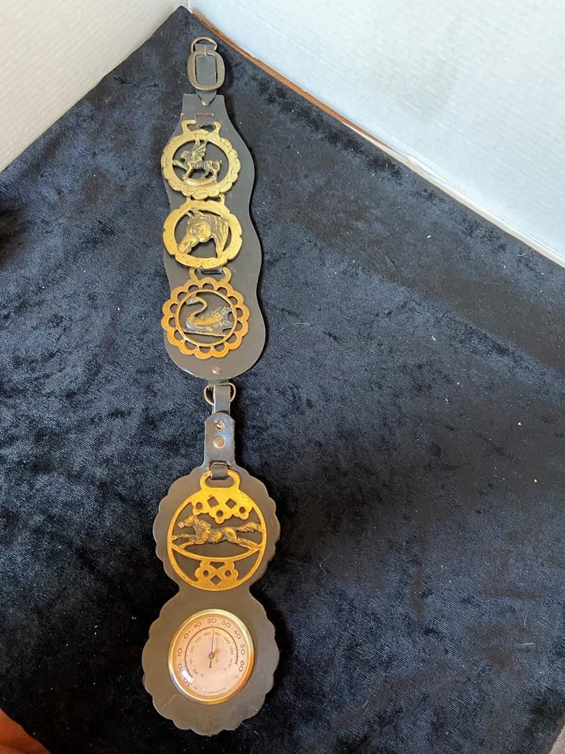 Lot # 312 Leather Belt Decor Piece