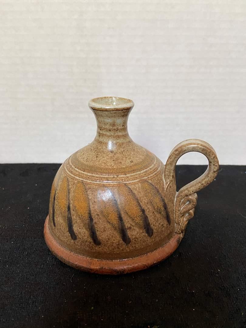 Lot # 314 Small Ceramic Piece (signed)