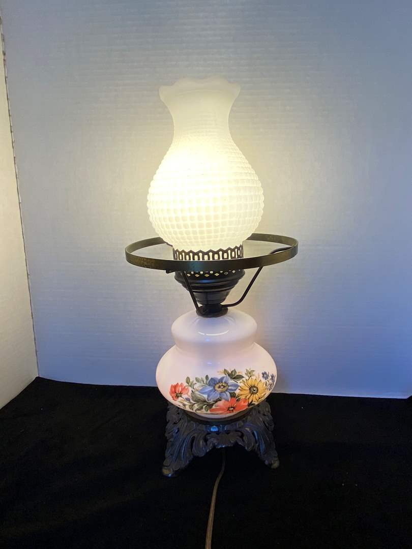 Lot # 317 Double Light Small Lamp