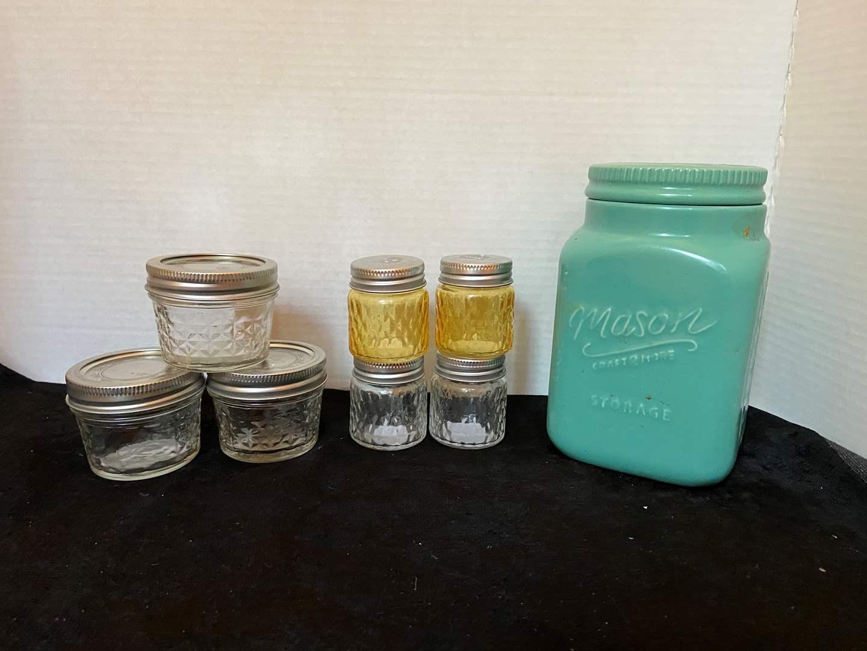 Lot # 327 Misc Mason Jars
