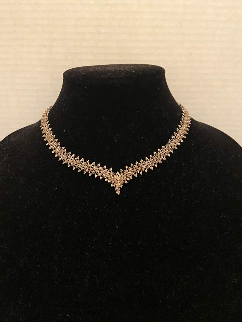 """Lot # 347 Gorgeous Sterling Silver 16"""" Necklace 22g"""