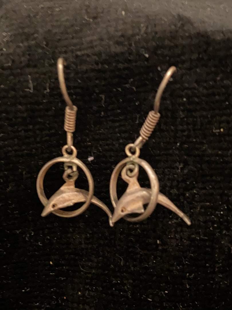 Lot # 355 Sterling Silver Earrings