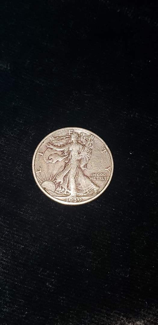 Lot # 367 1939-S Walking Liberty Half Dollar