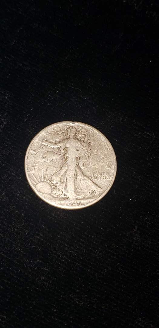 Lot # 368 1941 Walking Liberty Half Dollar