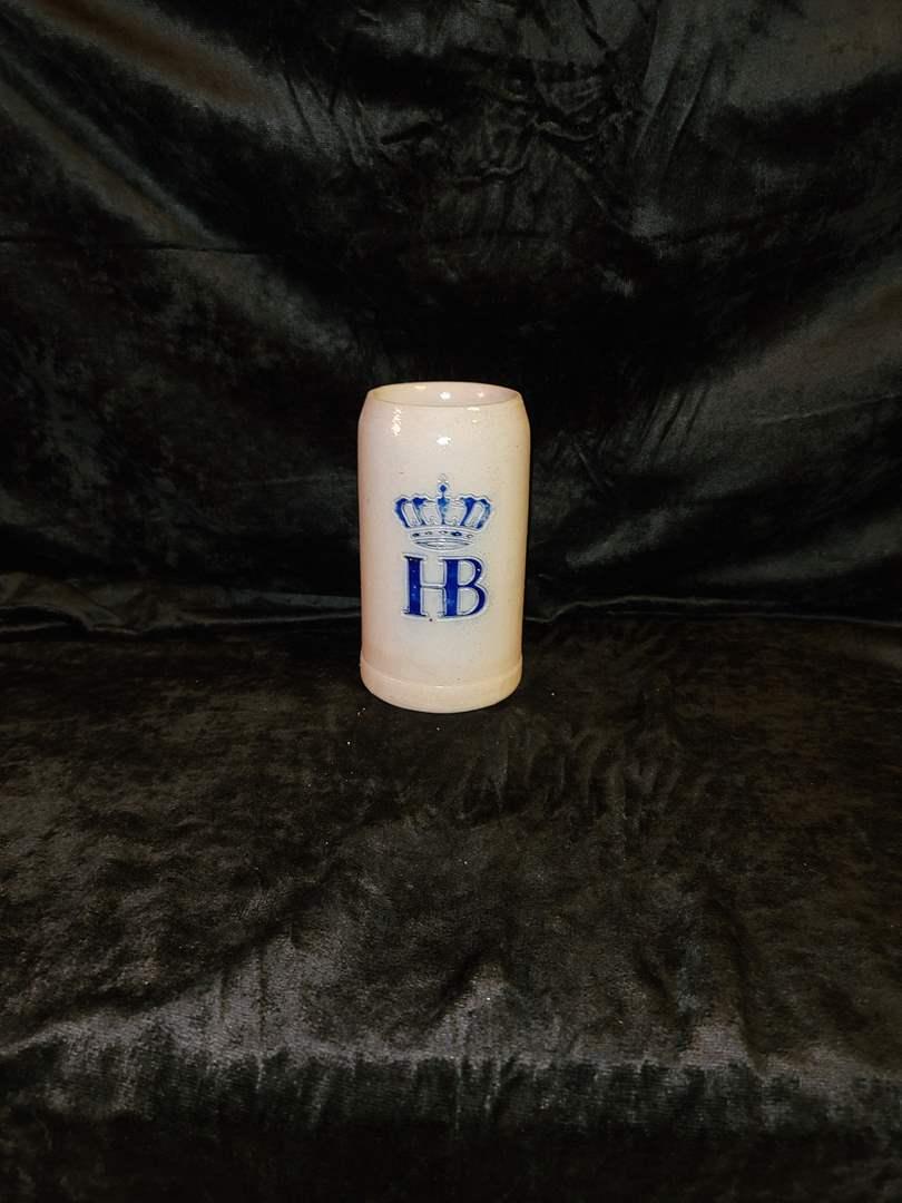Lot # 375 HB beer stein