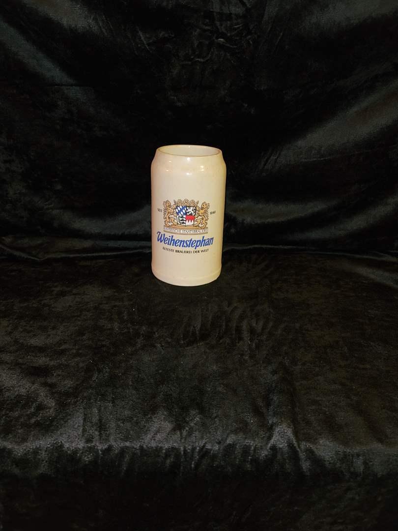 Lot # 377 Weihenstephan beer stein
