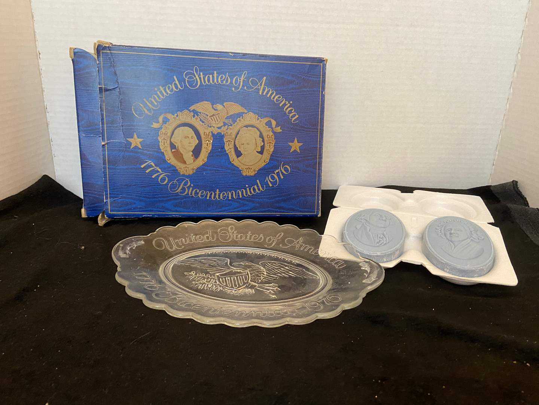 Lot # 384 Avon US Bicentennial Plate & Soap