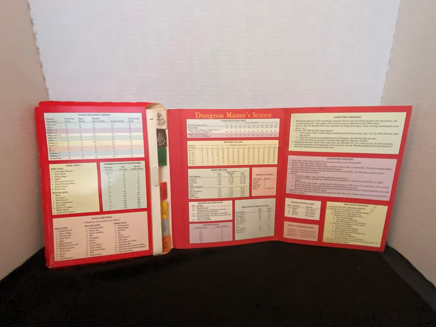 Lot # 387 Vtg Dungeons & Dragons Dungeon Master's Screen 1991