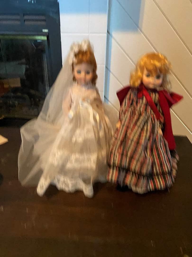 Lot # 398 (2) Madame Alexander Dolls