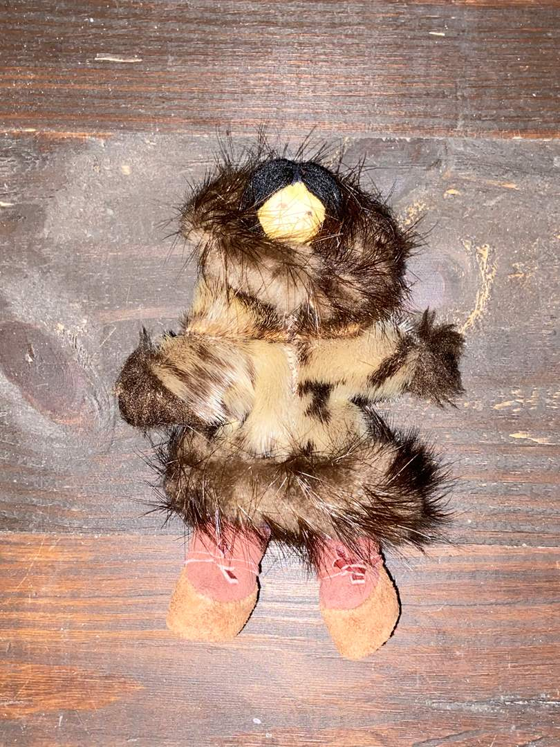 Lot # 403 Vtg Alaskan Animal Skin Doll