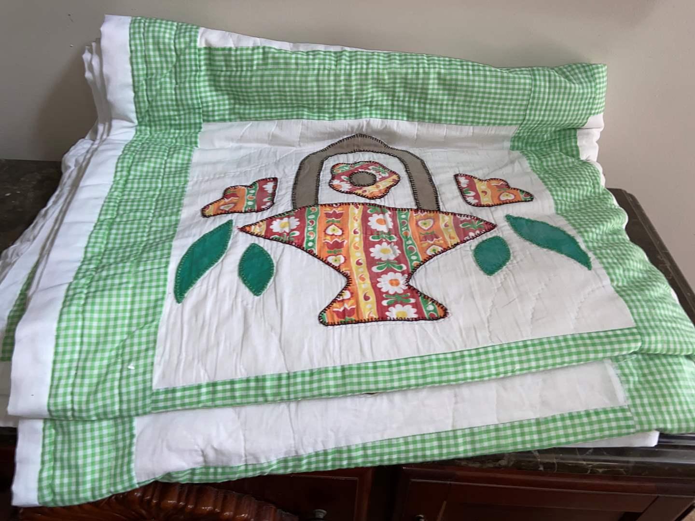 Lot # 418 Handmade Quilt