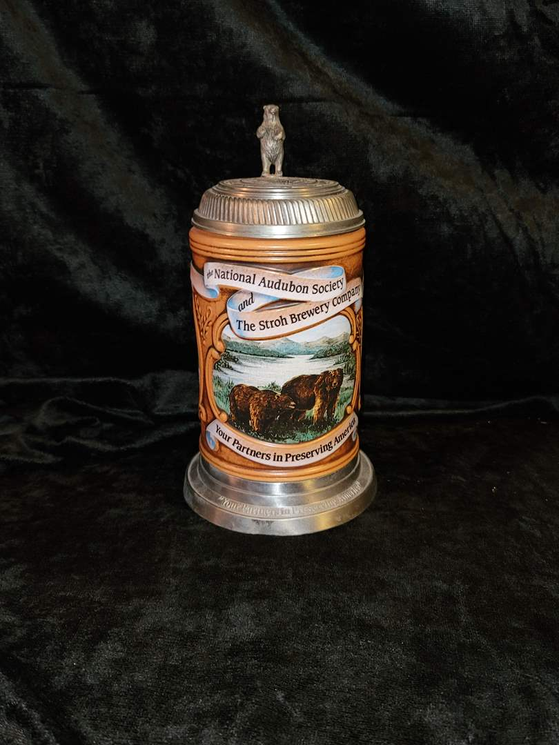 Lot # 445 Bear numbered  beer stein