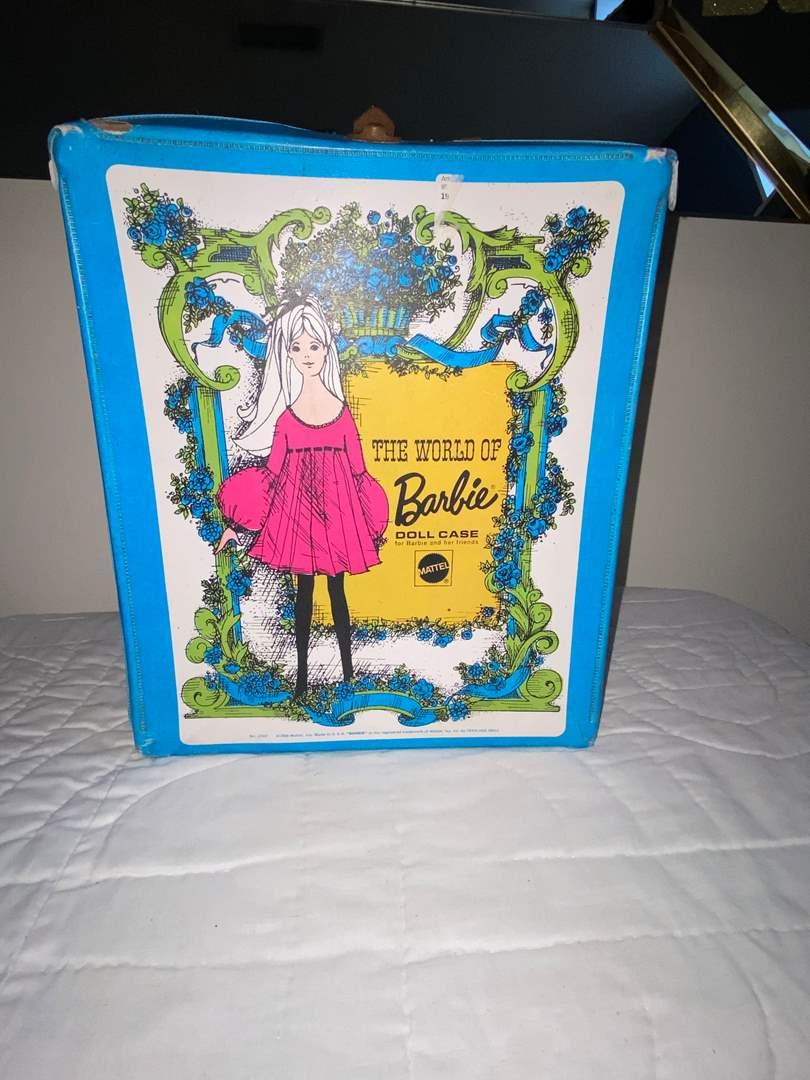 Lot # 457 Vtg World of Barbie Doll Case