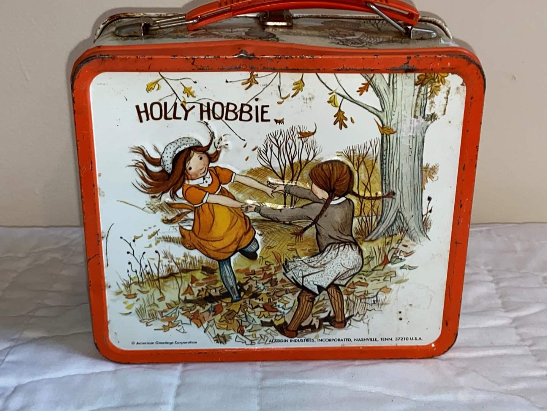 Lot # 461 Vtg Holly Hobbie Metal Lunch Box